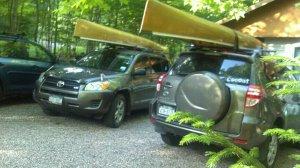 Ravi and canoe