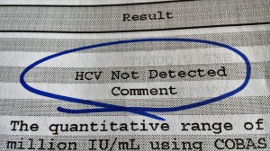 HCV not detected